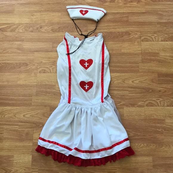 XL Cutie Nurse Dog Costume & Anit Accessories Other | Xl Cutie Nurse Dog Costume | Poshmark
